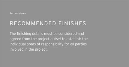 recommended-finishes