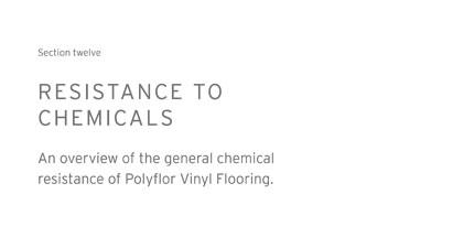 resistance-chemichals