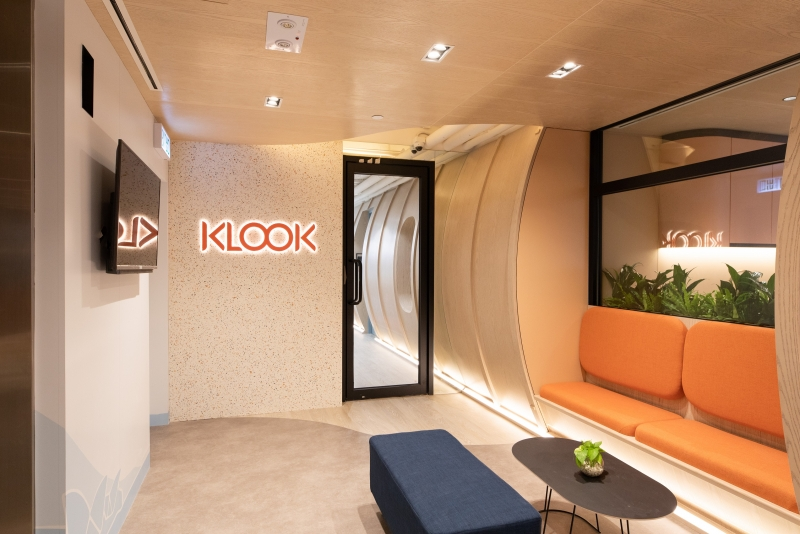 CASE STUDY: Travel Tech for Klook | Creative office design by Bean Buro.